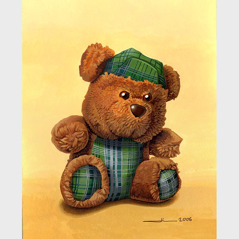 L'ours écossais