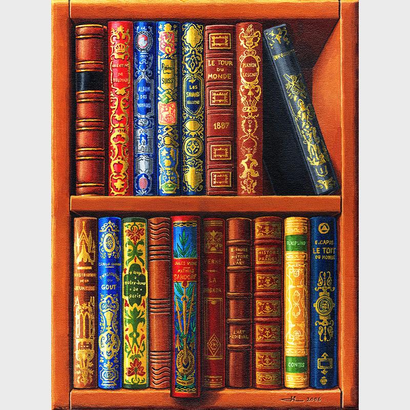 Première bibliothèque