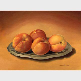 Un plat en inbox et des abricots