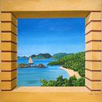 Fenêtre sur baie
