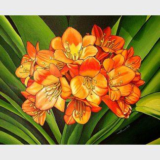 Les fleurs otanges