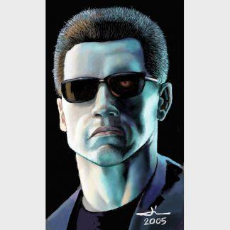 """Le célèbre androide des films """"Terminator"""""""
