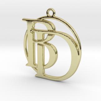 Monogrammes deux initiales