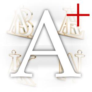 Initiale A