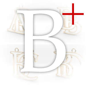 Monogrammes initiale B