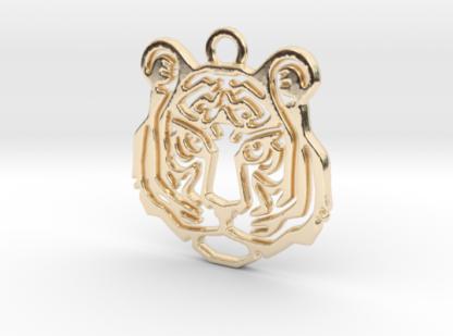 Tête de tigre impression 3D métal