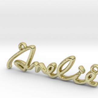 prénom Amélie en pendentif