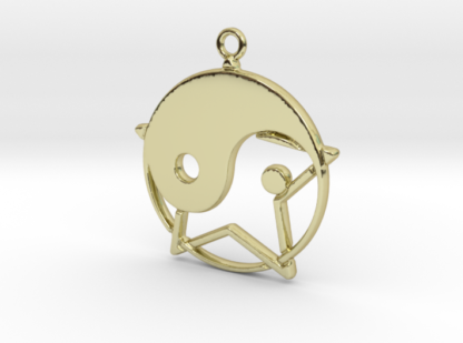 Yin-Yang et étoile entremêlés