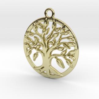Bijou en 3d d'un arbre de vie