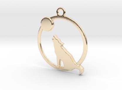 la lune le loup et l'anneau imprimés en 3d