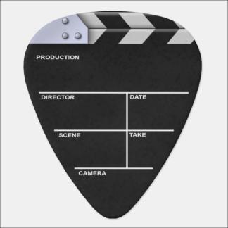 """Médiator à personnaliser """"clap cinéma"""""""
