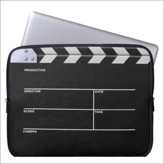 """Protection pour ordinateur portable """"clap cinéma"""""""