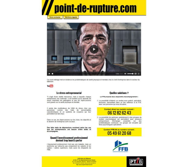 site internet point-de-rupture