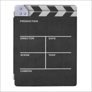 """Smart Cover pour iPad 2/3/4 """"clap cinéma"""""""