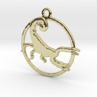 """Pendentif zodiaque : forme """"scorpion"""""""