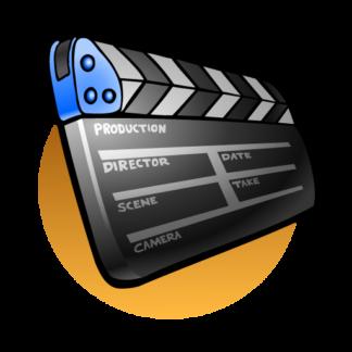 """Fichier vecteur """"cinéma"""""""