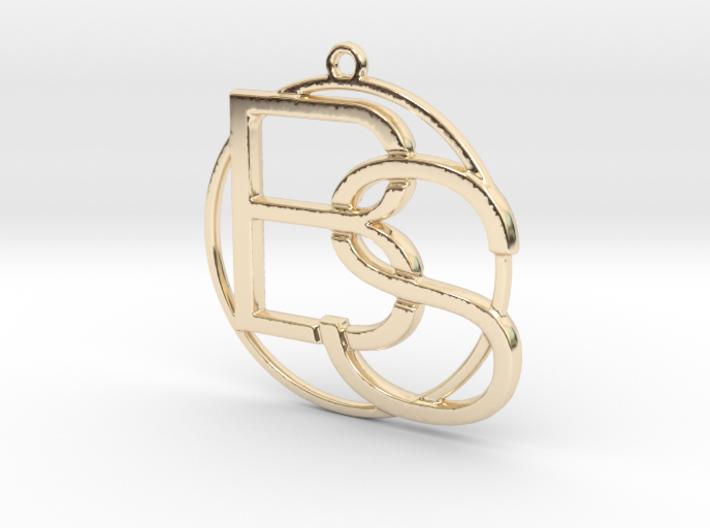 """""""B&S initiales et anneau"""" imprimés en 3D"""