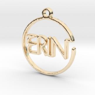 """""""Erin"""" prénom 3D en tracé continu"""