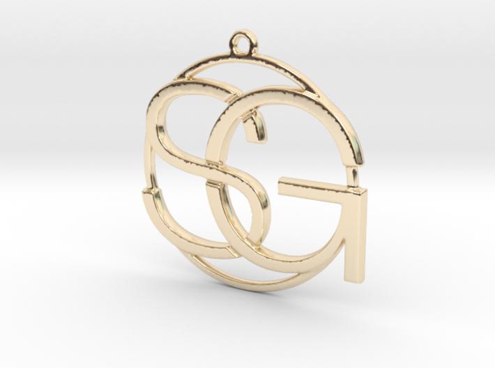 Initiales et anneau