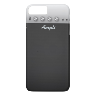 """Coque iPhone 7 et 8 Plus """"ampli de guitare"""""""