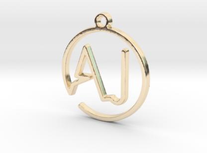 A&J initiales scripts en trace continu 3d