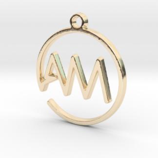 A&M initiales scripts en trace continu 3d
