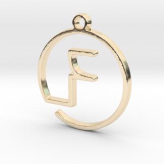 F initiale en tracé continu imprimé en 3D