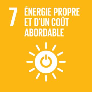 07 – Énergie propre et d'un coût abordable