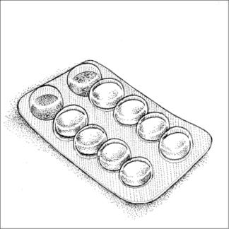 Plaquette de médicaments